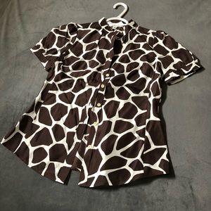 NWOT Banana Republic silk blouse